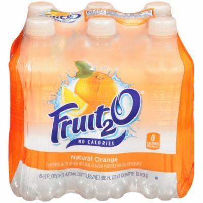 Fruit 2O Juice, Orange, 16 Fl Oz, 4 Count
