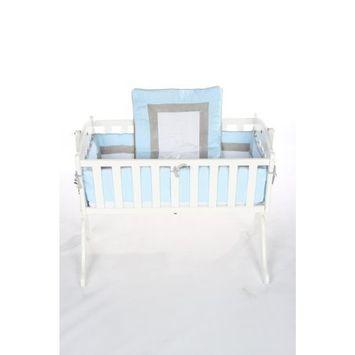 Baby Doll Bedding Classic II Cradle Bedding Set, Pink