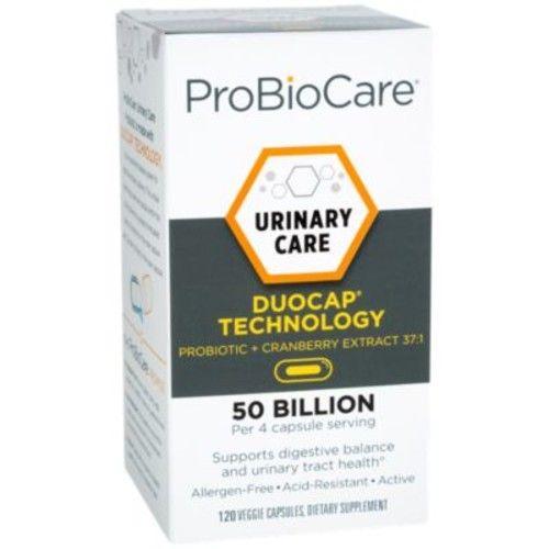 Urinary Care Probiotic + Cranberry 50 BILLION (120 Veggie Capsules) by ProBioCare at the Vitamin Shoppe
