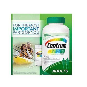 Centrum Multivitamin - Adults, Family Size (425 TOTAL TABLETS including a bonus travel size bottle)