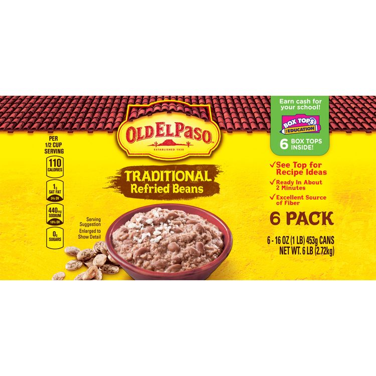 Old El Paso Traditional Mexican Refried Beans