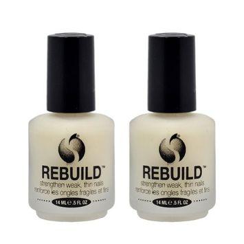 Lot 2 Seche Rebuild Vite Perfect Nail Restoration Treatment Salon Quality Mani