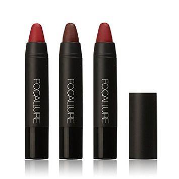 Matte Lipstick Lasting Waterproof Lip Gloss 3 Pieces/set (#1)