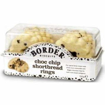 Border Choc Chip Shortbread Rings 150g (2 Pack)