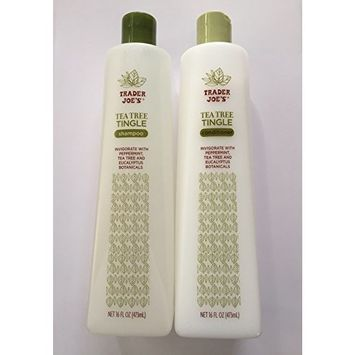 Trader Joe's Tea Tree Tingle Shampoo & Conditioner