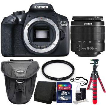 Canon EOS 100D Cámara Réflex Digital + Objetivo 18-55mm IS STM