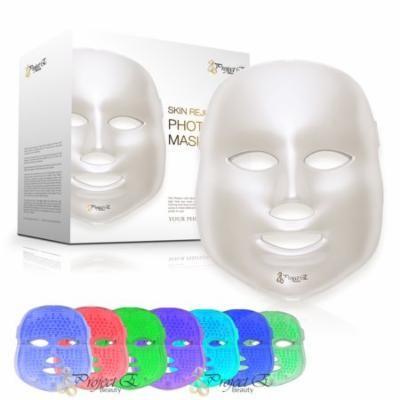 7 Color LED Mask Photon Light Wrikle removal Skin Rejuvenation Whitening Beauty Daily Skin Care Facial Mask