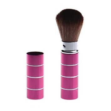 Voberry Makeup Telescopic Stainless Steel Daily Party Retractable Brush Powder Blush Brush Retractable Brush