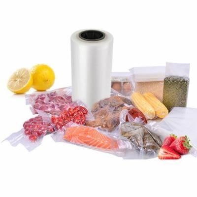 Food Storage Bag Vacuum Sealer Bag Clear Sealed Plastic Packing Bag One Roll WLT