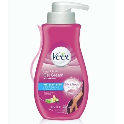 Veet Gel Hair Remover Cream, Sensitive Formula, 13.5 oz