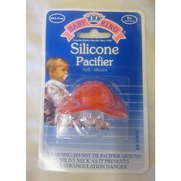 Bk-Silicone Pacifier Size Ea Bk-Silicone Pacifier