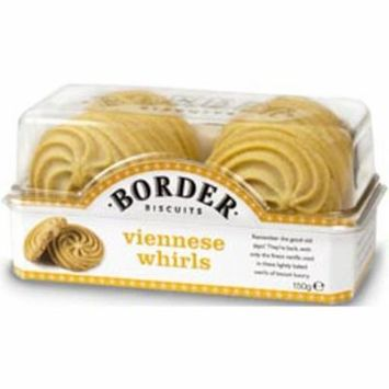 Border Viennese Whirls Case of 6 X 150gs
