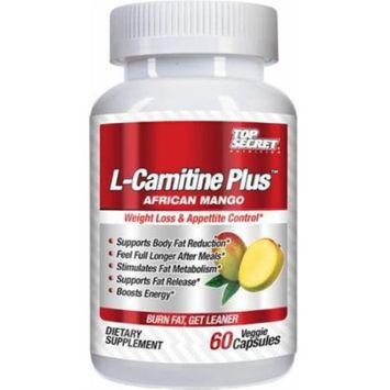 Top Secret Nutrition L-Carnitine Plus African Mango - 60 Vcaps