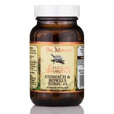 Stomach and Bowels Tonic #3 450 mg - 90 Vegicaps by Dr. Morse's Cellular Botanic