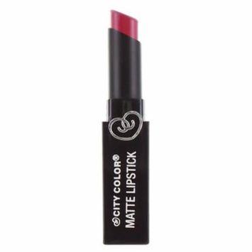 CITY COLOR Matte Lipstick L0050C - Raspberry