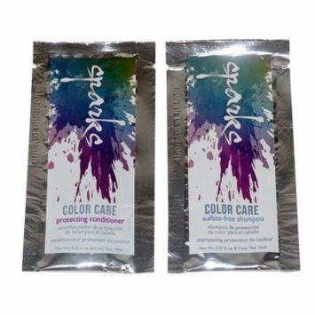Sparks Color Care Sulfate-Free Shampoo & Protecting Conditioner 0.33 oz