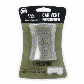 Woodwick Candle Car Vent Freshener - Applewood