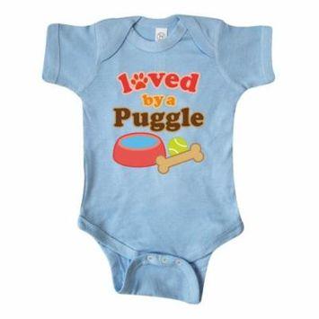 Puggle Dog Lover Infant Creeper