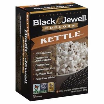 Black Jewell Kettle Microwave Popcorn, 10.5 Oz (Pack of 6)
