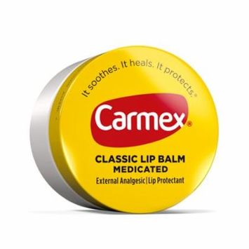 24 Pack Carmex Original Lip Balm Jars For Dry Chapped Lips 0.25 Oz
