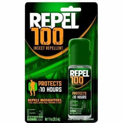 4 Pack - Repel 100% Deet Insect Repellent 1 oz Pump Spray Each