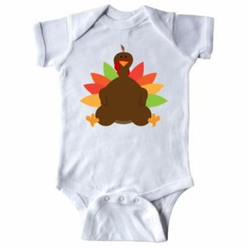 Thanksgiving Fat Turkey Infant Creeper