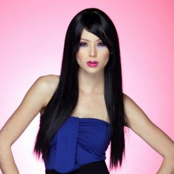 Blush Divine Fantasy Style Synthetic Wig - Onyx