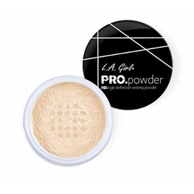 L.A. Girl Pro High Definition Setting Powder, Banana Yellow, 0.17 Ounce (Pack of 3)