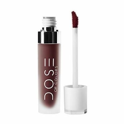 Dose of Colors Liquid Matte Lipstick (Chocolate Wasted)