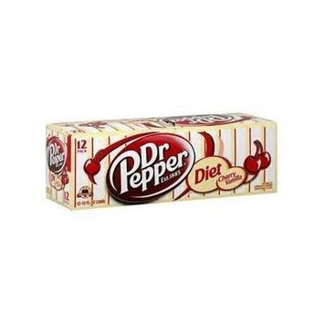 Diet Cherry Vanilla Dr Pepper 12 oz cans 12 pack 144 oz