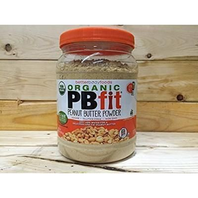 """BetterBody Foods PB Fit """"USDA Organic"""" Powder, Peanut Butter, 30 Ounce (Pack of 3)"""