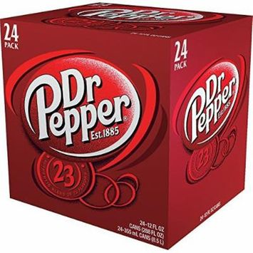 Dr Pepper (12 oz. cans, 24 pk.)