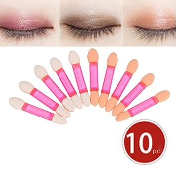 Hatop 10 Pcs Makeup Brush EyeShadow Brush Cosmetics Blending Brush Tool