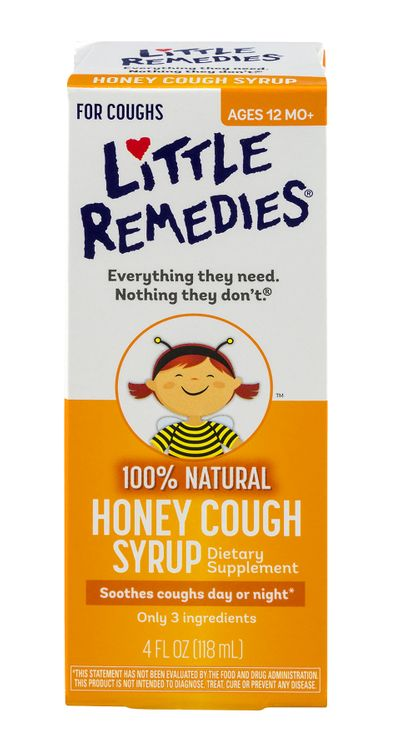Little Remedies Honey Cough Syrup (4oz)