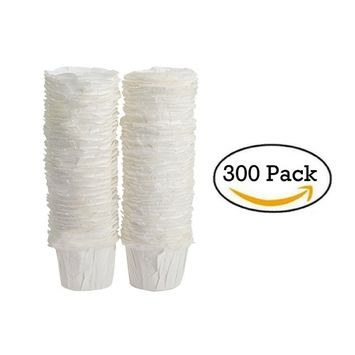 Paper Keurig Compatible Single-Serve Disposable Paper Filters (300) Count