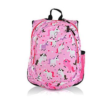 Obersee Kids Pre-School All-in-One Backpack with Cooler, Unicorn