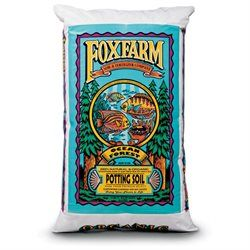 FOXFARM FX14053 12 Quart Ocean Forest Organic Potting Soil Mix - 6.3-6.8 pH