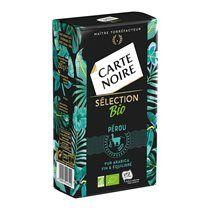 Café moulu Carte Noire Bio Sélection Pérou - Paquet de 250 g