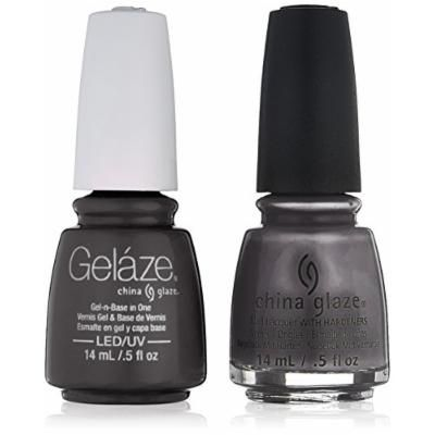 China Glaze Gelaze Tips and Toes Nail Polish, Recycle, 2 Count