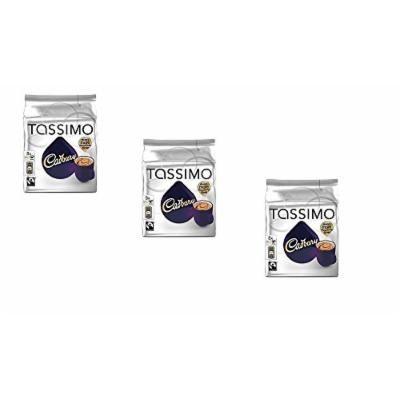 Tassimo Cadbury Hot Chocolate X3 Packs, Total 24 T Discs Capsules