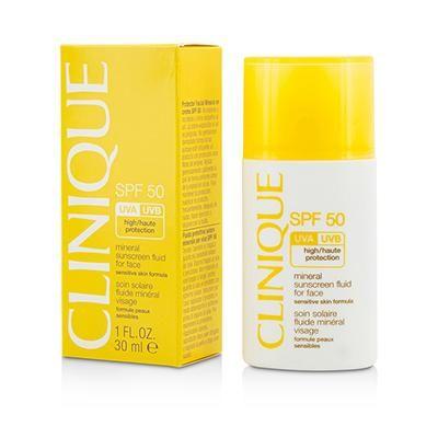 Mineral Sunscreen Fluid For Face SPF 50 - Sensitive Skin Formula 1oz