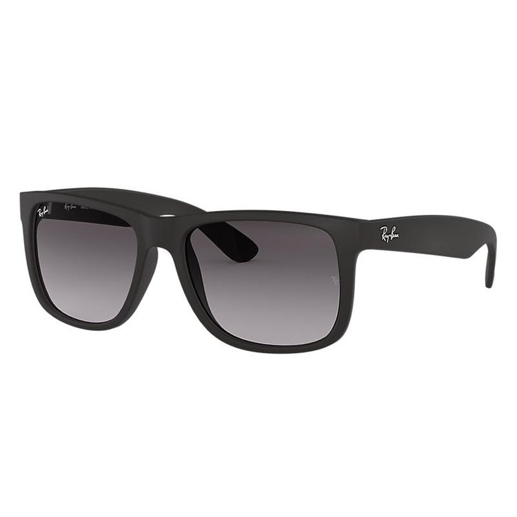 Ray-Ban Justin Classic Black, Gray Lenses - RB4165