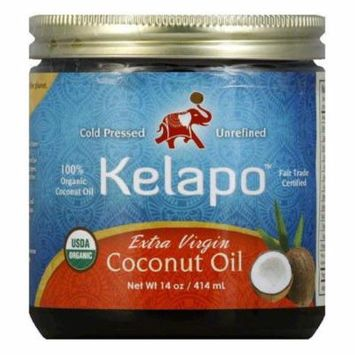Kelapo Organic Extra Virgin Coconut Oil, 14 FO (Pack of 6)