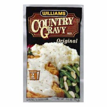 Williams Original Country Gravy Mix, 2.5 OZ (Pack of 12)