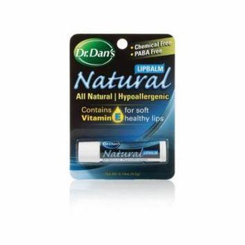 Dr. Dan's Natural Lip Balm All Natural
