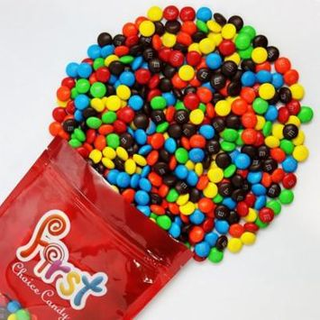 m&m Assorted colors Milk Chocolate Candy 1 Pound Resealable Pouch Bag