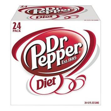 Diet Dr Pepper (12 oz. cans, 24 pk.)