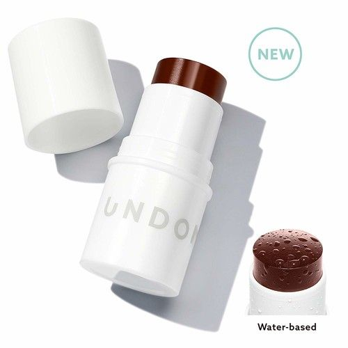 Water Bronzer Stick. Blends perfectly into skin - UNDONE BEAUTY Water Bronzer. Most natural looking tan - No Streaks, Lines, Mistakes. Coconut for Radiant, Dewy Glow. Vegan & Cruelty Free. BLAST