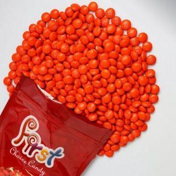m&m Orange Milk Chocolate Candy 2 Pound Resealable Pouch Bag
