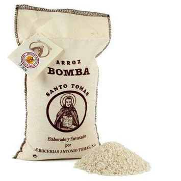 Santo Tomas Bomba Rice D.O. In Textile Bag - 2 kg.